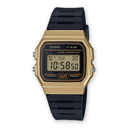 Reloj CASIO serie digital F-91WM-9