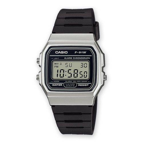 Reloj CASIO serie digital F-91WM-7A