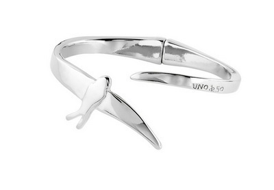 Pulsera  COME FLY WITH ME wrap Uno de 50