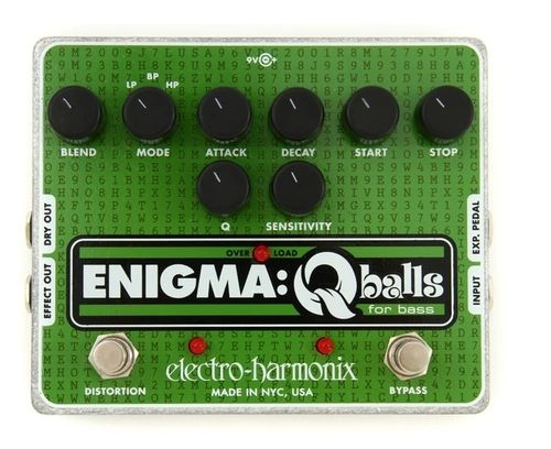 Pedal BAJO ELECTRO HARMONIX Enigma Envelope Filter for Bass